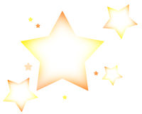 Stars. Newly made stars in photoshop Royalty Free Stock Images