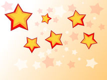Stars. Newly made stars in photoshop Stock Photos