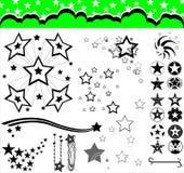 Stars. Various stars vector illustration for your design vector illustration