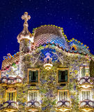 Stars Above Casa Batllo Royalty Free Stock Photo