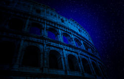 Stars above Colosseum