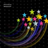 Stars Abstract Background. For design presentations and reports Royalty Free Stock Photography