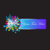 Stars Abstract Banner Royalty Free Stock Image