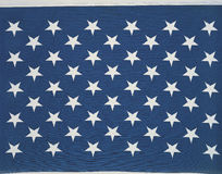 Stars of the American flag Royalty Free Stock Image
