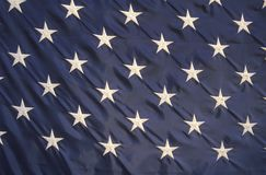 Stars on an American Flag Stock Photos
