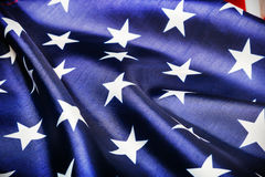 Stars on the American flag Stock Photography