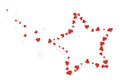 Free Stars And Hearts Stock Photography - 7767032
