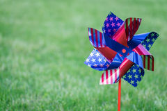 Free Stars And Strips Spinner With Copy Space. 4th Of July. Labor Day. Royalty Free Stock Photo - 92412055