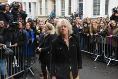 Stars arrive for Band Aid 30 Royalty Free Stock Image
