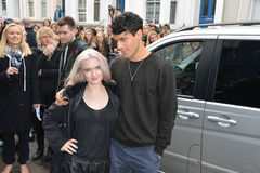 Stars arrive for Band Aid 30 Stock Images