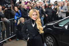 Stars arrive for Band Aid 30 Royalty Free Stock Photography