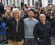 Stars arrive for Band Aid 30 Stock Photography