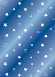 Stars background. Blue background with stars Royalty Free Illustration
