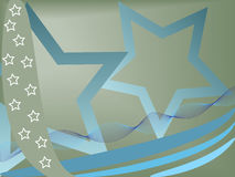 Stars background. Simple background made from stars - vector illustration Stock Images