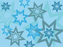 Stars background. Abstract background made from stars - vector illustration Stock Images