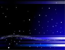 Stars Background Royalty Free Stock Photos