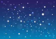 Stars background Royalty Free Stock Photo