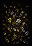 Shiny stars background Stock Photo