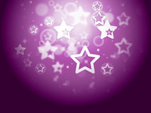Stars Background Means Fantasy Wallpaper Or Sparkling Design Royalty Free Stock Photo