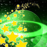 Stars Background Represents Cosmic Space And Abstract Stock Images