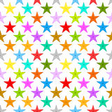 Stars background seamless pattern Stock Photo