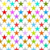 Stars background seamless pattern Stock Photo