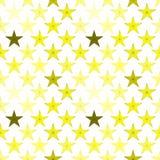 Stars background seamless pattern. Yellow stars background. Seamless tile Royalty Free Stock Photography