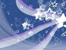 Stars Background Shows Night Sky And Constellations Royalty Free Stock Image