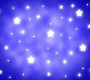 Stars Background Shows Night Time And Midnight Stock Photo