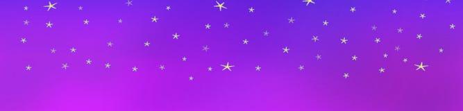 Stars background in the velvet sky stock images