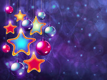 Stars and balls Stock Photography