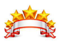 Stars banner. Royalty Free Stock Photo
