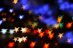 Stars bokeh stock photo