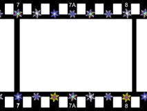 Stars border Royalty Free Stock Photos