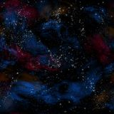 Stars. Bright stars and colorful clouds. 3D rendering. Some elements image credit NASA Stock Photos