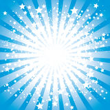 Stars burst. Abstract stars burst,  illustration Royalty Free Stock Images