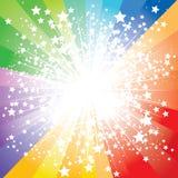 Stars burst. Abstract stars burst,  illustration Royalty Free Stock Image