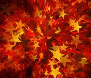 Stars burst background. S. shining shapes Stock Photo