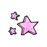 stars cartoon design element Stock Images