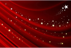 Stars and christmas Royalty Free Stock Photography