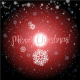 Stars with Christmas background and greeting card vector Royalty Free Stock Photography