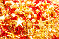 Stars christmas decoration Stock Photos