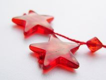 Stars. Christmas decorations Royalty Free Stock Photos