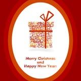 Stars christmas gift Stock Image