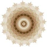 Stars circles tunnel stock illustration