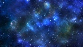 Stars cluster vector illustration