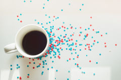 Stars and coffee Royalty Free Stock Photo