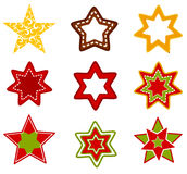 Stars collection Royalty Free Stock Image