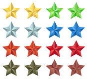 Stars collection Stock Images