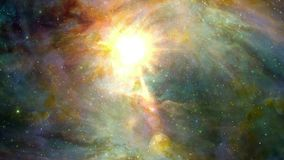 Stars and colors in space. Video of stars and colors in space stock footage